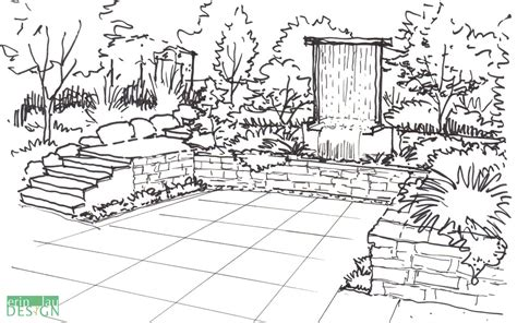 DrawnToGarden   From Concept to Reality, a Garden Designer