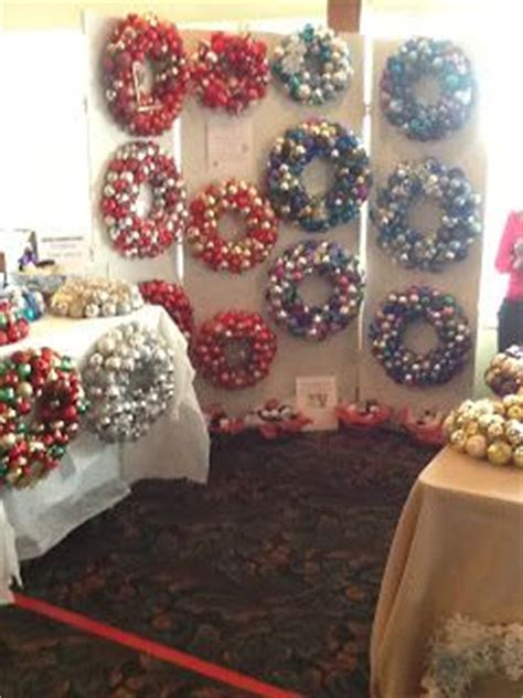 how to display christmas ornaments at fair 30 best images about craft fair ideas on crafts hair bow display and craft fairs