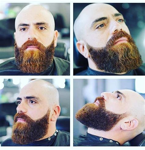 25 best ideas about bald men with beards on pinterest
