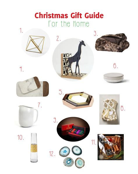 holiday gift guide for the home a life well consumed