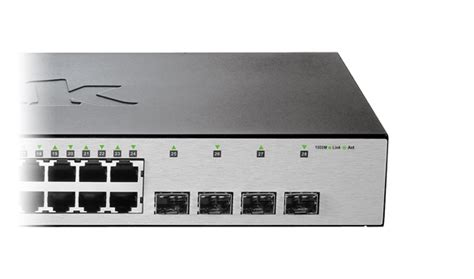 Dlink Dgs 1210 28 24port Gigabit Managed Switch Dgs1210 28 28 port gigabit smart managed switch with 24 rj45 and 4 sfp ports