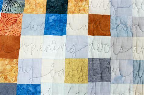 Quilt Lyrics by Top Secret Quilts For Friends