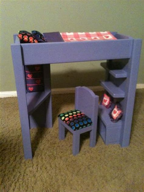 ana white build a loft bed for american girl or 18 quot doll