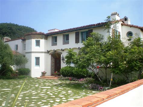 Mediterranean Style Mansions file adamson house malibu jpg wikimedia commons