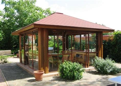 Backyard Enclosed Gazebo Best 25 Enclosed Gazebo Ideas On Gazebo