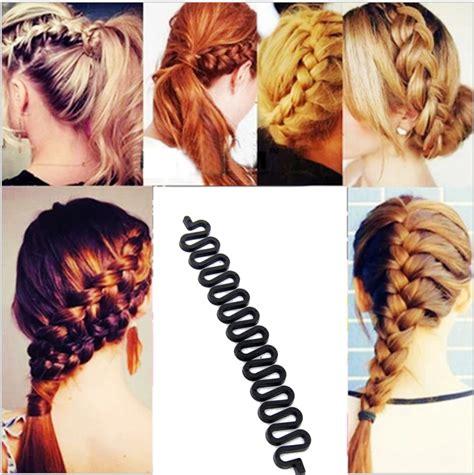 fashion magic hair styling bun aliexpress buy 1 pc fashion black hair braiding