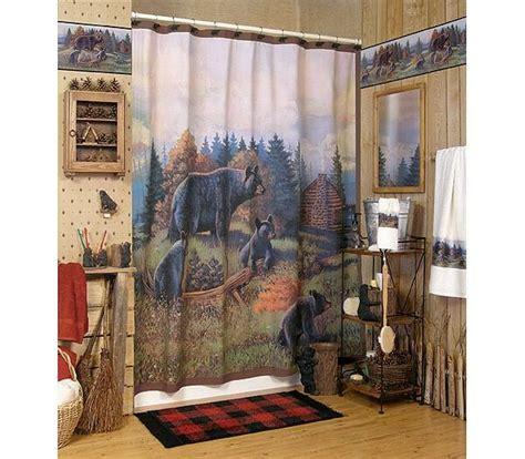 black bear cabin l home decor pinterest bear decor com black bear lodge bathroom shower