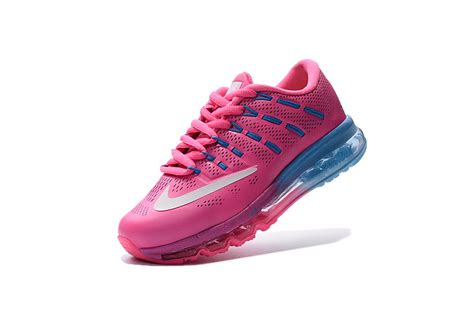 air max 2017 leather shoes pink blue outlet factory
