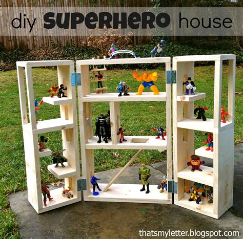 That S My Letter Quot S Quot Is For Superhero House