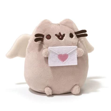 New Keychain Plush Pusheen Candycorn pusheen the cat pusheen cupid 4 1 4 inch plush gund
