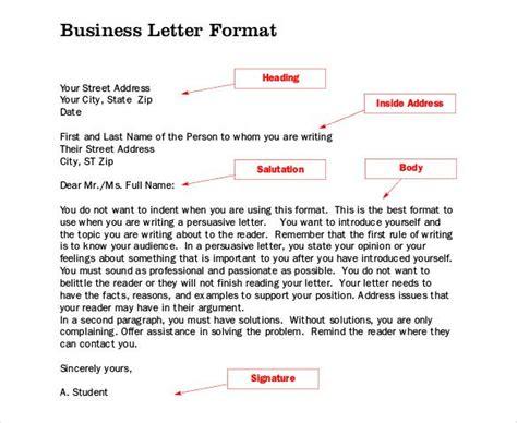 business letter format canada  proposal letter