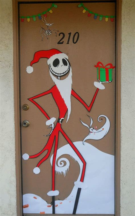 apartment door christmas decorating contest ideas nightmare before door decorating contest winners search doors