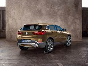 Bmw X2 Bmw X2 Tries On A Production Spec Suit Looks Sleek