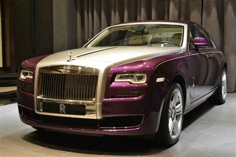 Gallery Purple Rolls Royce Ghost Series Ii