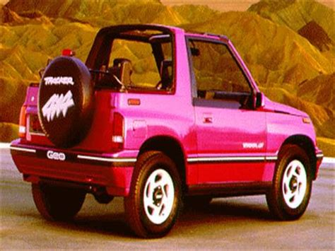 1994 geo tracker lsi sport utility convertible 2d pictures