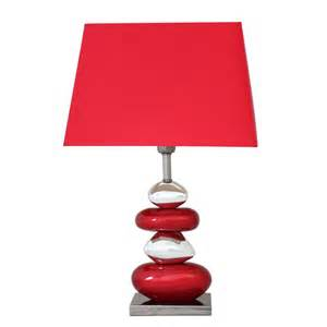 Uttermost Catalog Red Table Lamps