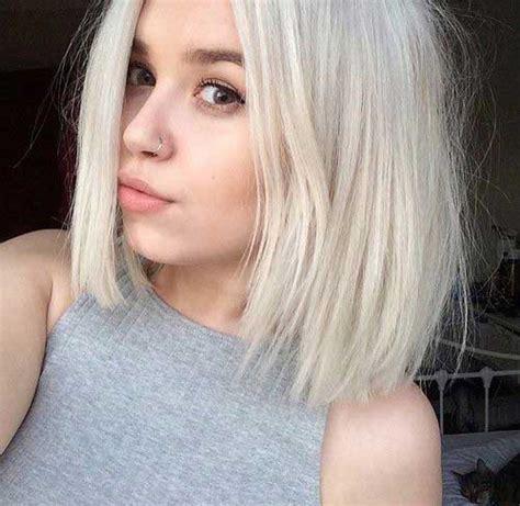 short blonde hairstyles tumblr 30 super blonde bob hairstyles bob hairstyles 2017