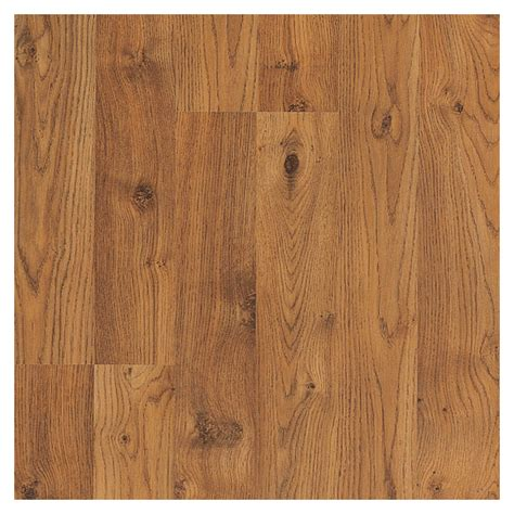 shop pergo sherwood oak laminate flooring sle at lowes com