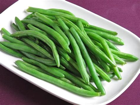 steamed green beans my menu pal