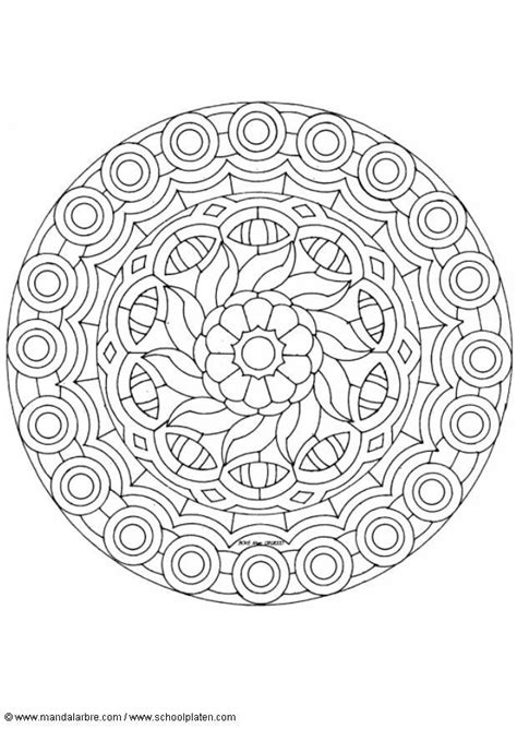 Mandala Coloring Pages Picmia The Awesome Mandala Coloring Pages