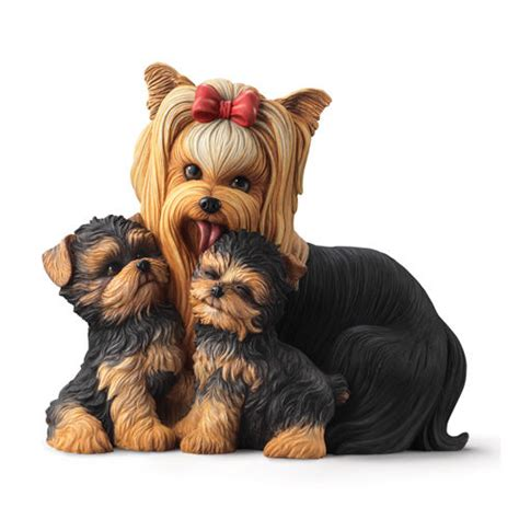 yorkie statue terrier statue shop collectibles daily