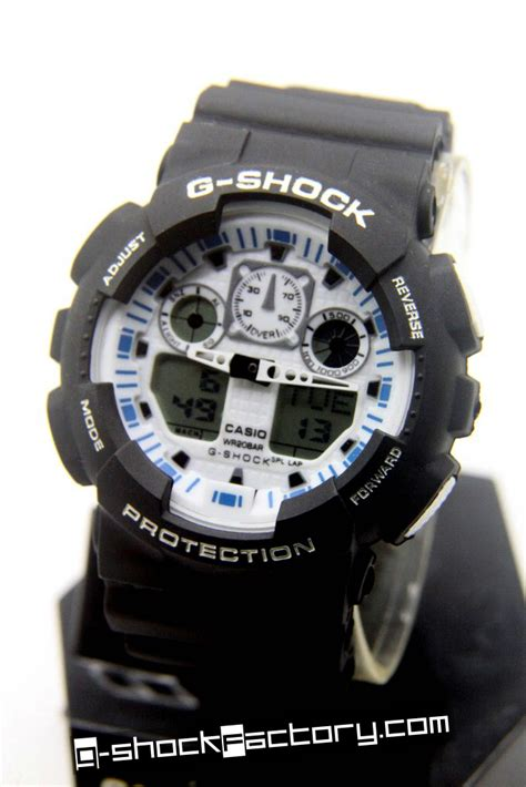 G Shock Gw 8600 Black Blue g shock ga 100 black white blue wrist by www g