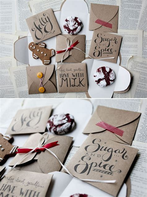 diy cookie envelope template 3 designs free pdf