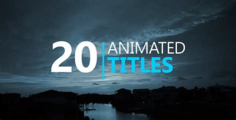 titles archives page 10 of 51 free after effects