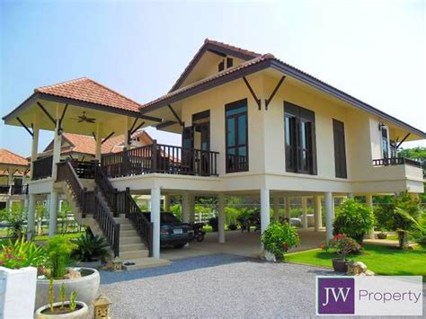 thai home design news 2 storey modern thai style home in west hua hin