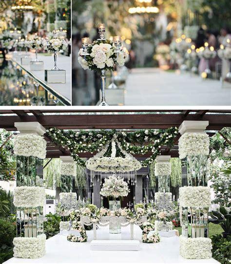 decor floral inspiring trendee flowers designs white glamour wedding inspiration