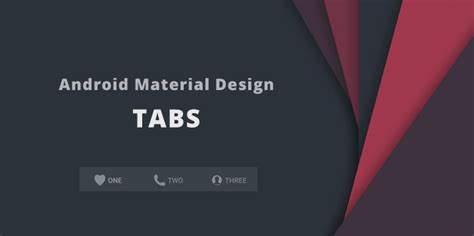 tab layout android material design implementar tabs android guj