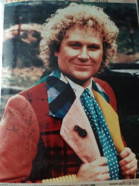 Ono Sideboard Colin Baker The 6th Doctor Who Signed Photo Penn Walsall