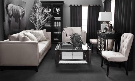 Z Gallerie Living Room Ideas New Neutral Contemporary Living Room By Z Gallerie