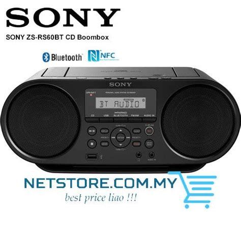 Compo Siny Boombox Zs Rs60bt Cd Mp3 Usb Bluetooth sony zs rs60bt cd boombox radio with end 2 6 2018 4 15 am