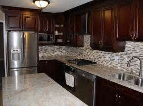unique kitchen furniture cherry coloured custom kitchen cabinets with granite