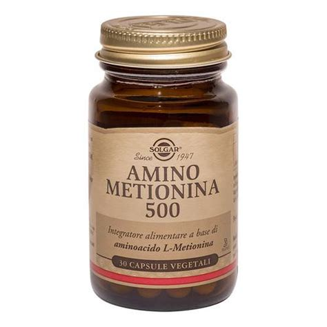 metionina alimenti amino metionina 500 30 vegicaps compra subito su