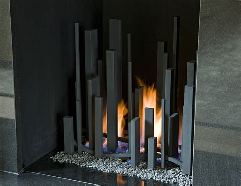 trendy fire sculptures bring sizzling style   hearth