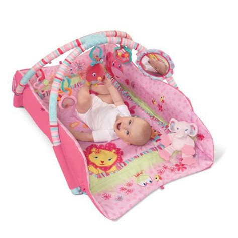 Bright Starts Play Mat Pink by Bright Starts Baby S Deluxe Play Place Pink Reviews In