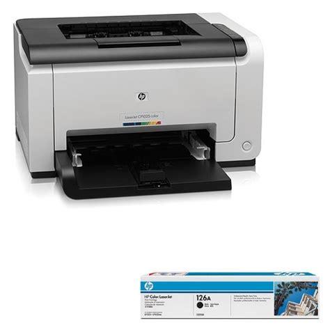 hp laserjet pro cp1025 t 243 ner negro 126a impresora l 225 ser