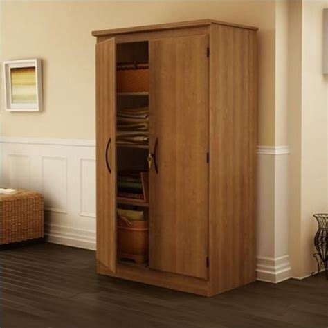 Two Door Storage Cabinet South Shore Park 2 Door Storage Cabinet In Cherry Finish 7276970