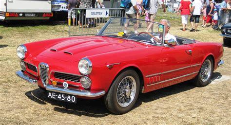Alfa Romeo 2000 Spider by 1960 Alfa Romeo 2000 Touring Spider Alfa Romeo 2000