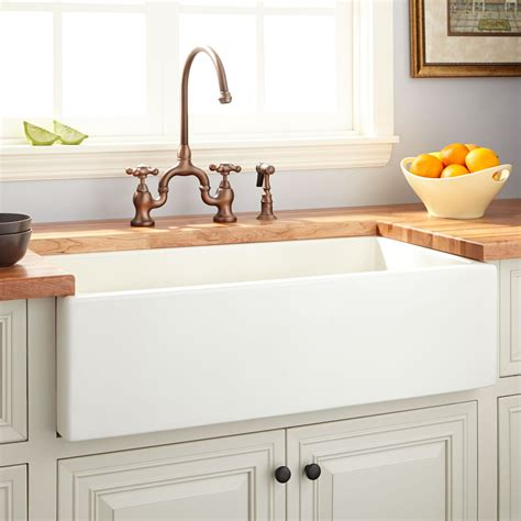 what is fireclay sink 36 quot dorhester fireclay reversible farmhouse sink smooth