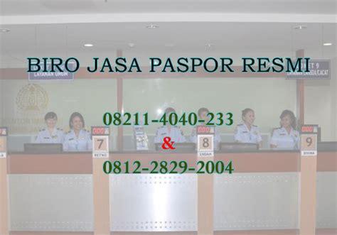 pembuatan paspor baru tangerang biro jasa pembuatan paspor resmi di jakarta bogor depok