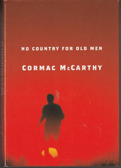 no country for old men by cormac mccarthy first edition 1st printing hardback