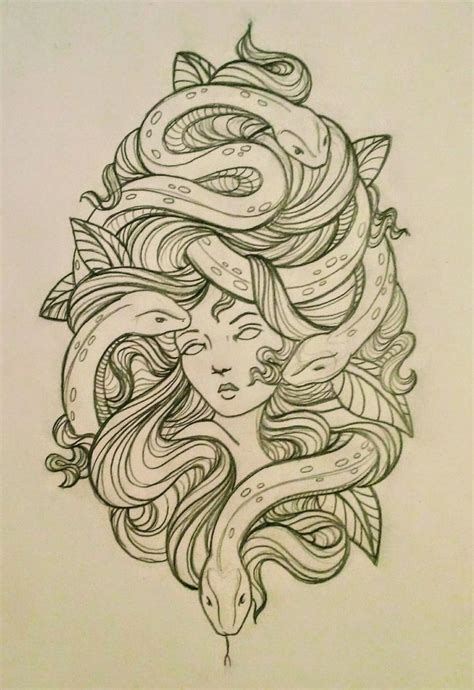 medusa tattoo design 1000 ideas about medusa design on