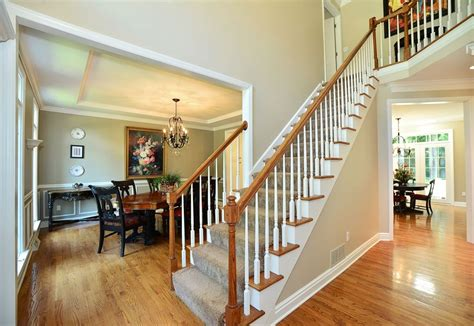 home design story stairs traditional staircase with hardwood floors balcony in