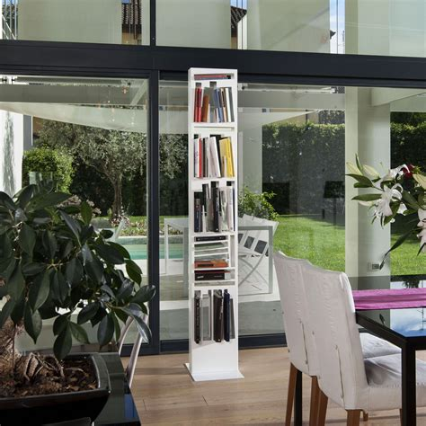 libreria di design libreria di design in metallo e legno bookshape slim