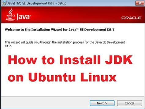 How To Install Jdk In Ubuntu | how to install java jdk and jre on ubuntu linux youtube