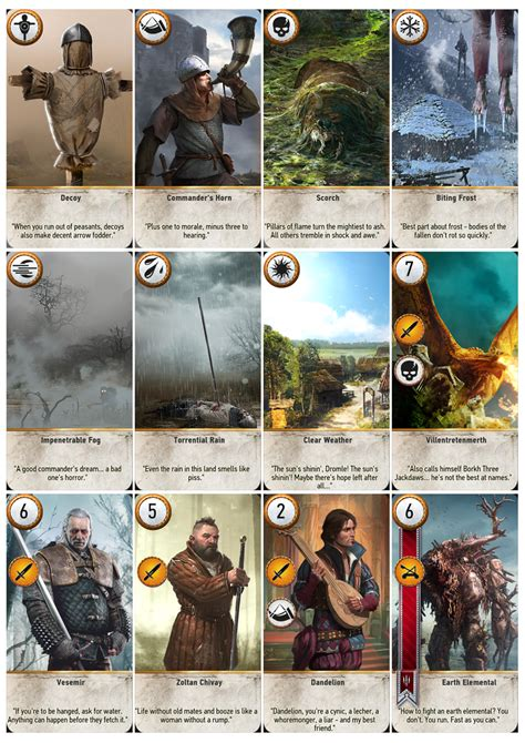 printable deck of cards a4 gwent cards in printable a4 sheets resolutions game