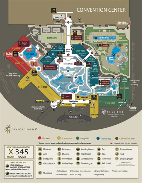 opryland hotel layout map 17 best images about 2015 conference site on pinterest